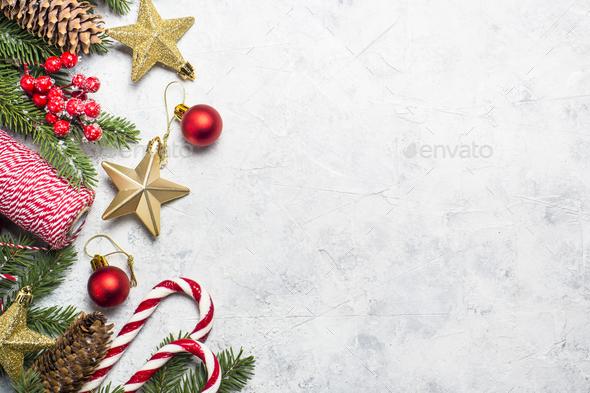Christmas Background Design.Christmas Background On White