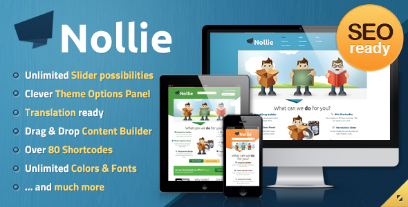 Nollie WordPress Theme