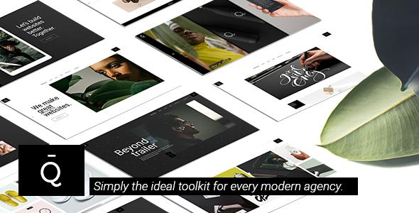 Quart - Modern Design Agency - Creative WordPress