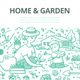 Home and Garden Doodle Concept - GraphicRiver Item for Sale