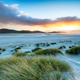 Sunset at Luskentyre Beach in the Western Isles - PhotoDune Item for Sale