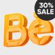 Clean 3D Logo