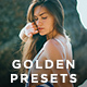 22 Golden Lightroom Presets - GraphicRiver Item for Sale