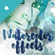 Aqua & Chroma Watercolor Texture Effects - GraphicRiver Item for Sale