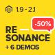 Resonance - Multi-Purpose Responsive Magento 2.2 and Magento 1 Theme - ThemeForest Item for Sale