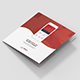 Brochure – Mobile App Tri-Fold Square - GraphicRiver Item for Sale