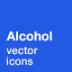 Alcohol Icons - GraphicRiver Item for Sale