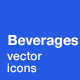 Beverages Icons - GraphicRiver Item for Sale