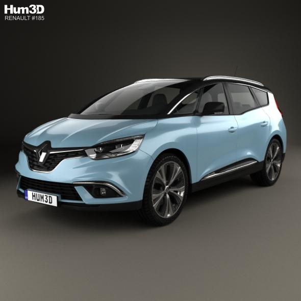 Renault Grand Scenic Dynamique S Nav 2017