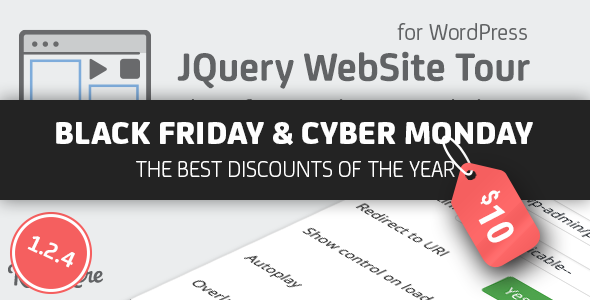 jQuery Website Tour for WordPress - CodeCanyon Item for Sale