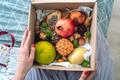 Box of fruit girl hands - PhotoDune Item for Sale