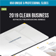 2019 Clean Business Keynote Presentations Bundle - GraphicRiver Item for Sale