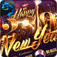 Happy New Year V2 Flyer Template - GraphicRiver Item for Sale