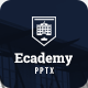 Ecademy - Powerpoint Template - GraphicRiver Item for Sale