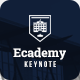 Ecademy - Keynote Template - GraphicRiver Item for Sale