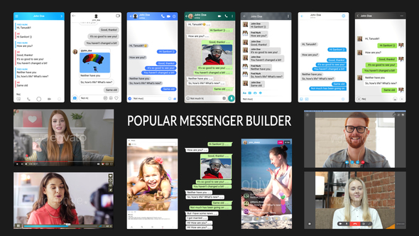 Popular Messenger Builder v3.0 19770231