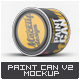 Paint Can Mock-Up v.2 - GraphicRiver Item for Sale