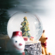 Christmas Decoration With Copy Space Background - VideoHive Item for Sale