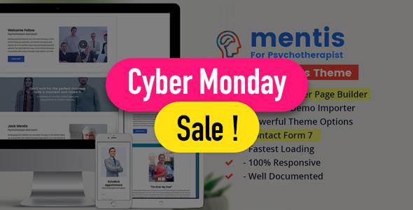 Psychologist- WordPress Theme Mentis for Therapists, Psychiatrists & Life coaches - Health & Beauty Retail