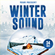 Winter Sound Flyer Template - GraphicRiver Item for Sale