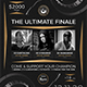 DJ Battle Flyer Template V6 - GraphicRiver Item for Sale