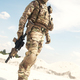 War games player equipped with tactical ammunition - PhotoDune Item for Sale