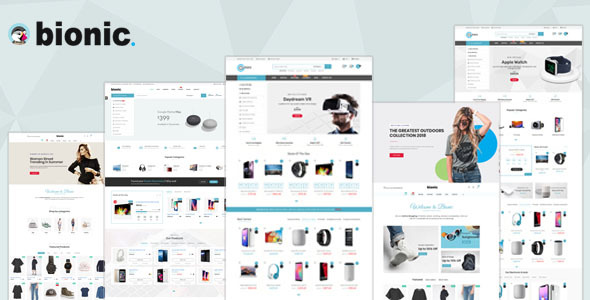 Bionic - Multi-Purpose Store Responsive Prestashop Theme V1.6 & V1.7 - Technology PrestaShop