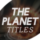The Planet Titles - VideoHive Item for Sale