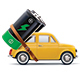Battery on Car - GraphicRiver Item for Sale