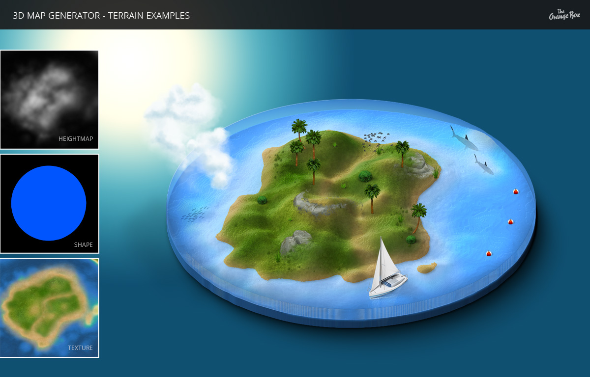 3d map generator terrain free download for mac