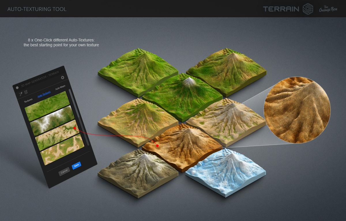 3D Map Generator - Terrain from Heightmap
