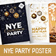 NYE Party Poster / Flyer - GraphicRiver Item for Sale