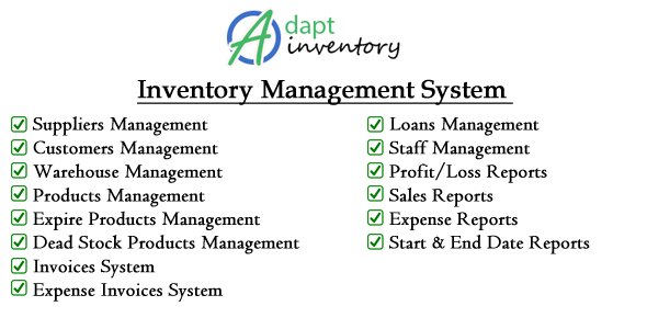Adapt Inventory Management System - CodeCanyon Item for Sale
