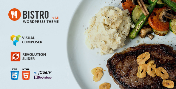 Bistro - Food & Restaurant WordPress