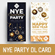NYE Party DL Rack Card - GraphicRiver Item for Sale