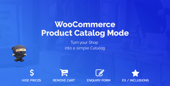 WooCommerce Product Catalog Mode & Enquiry Form - CodeCanyon Item for Sale
