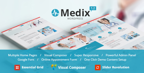 Medix - Health and Medical WordPress