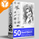 50 Pencil Sketch Brush - GraphicRiver Item for Sale