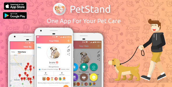 PET Stand - PET App For PET Lovers - CodeCanyon Item for Sale