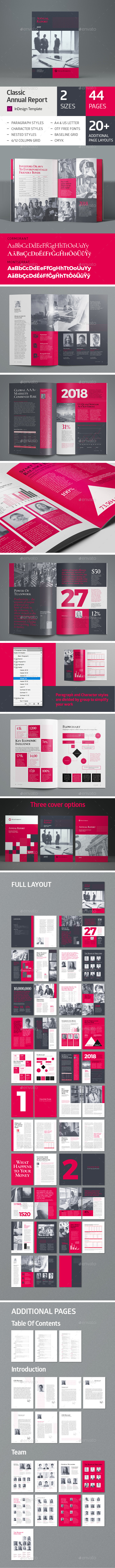 Annual Report 44 pages - Corporate Brochures