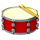 6 Drums 3D Renders - GraphicRiver Item for Sale