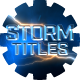 Storm Titles v2 - VideoHive Item for Sale
