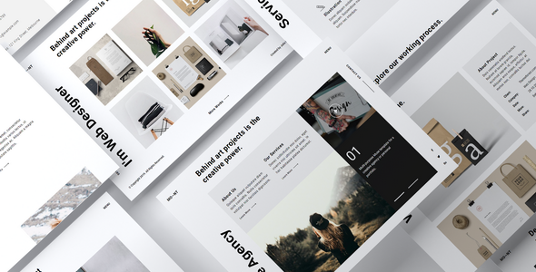 MONT - Creative Agency Portfolio Muse Template