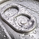 Close up aluminium can drink with droplets  - PhotoDune Item for Sale