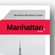 Manhattan Business Brochure - GraphicRiver Item for Sale