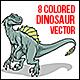 Dinosaur Vector illustration - GraphicRiver Item for Sale