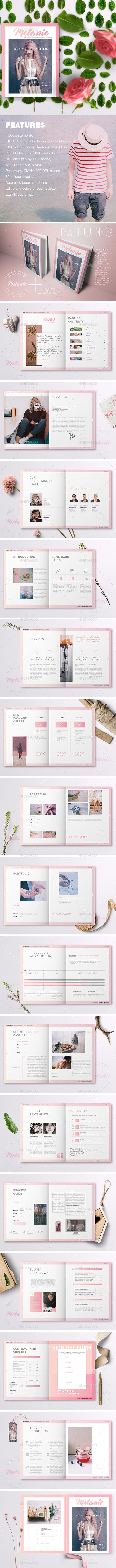 Melanie - Creative Proposal - Brochures Print Templates