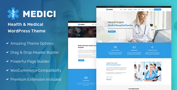 Medici - Health & Medical WordPress Theme