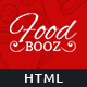 FoodBooz - Minimal Restaurant, Food & Cafe Shop - ThemeForest Item for Sale