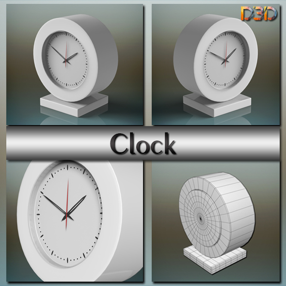 Clock - 3DOcean Item for Sale